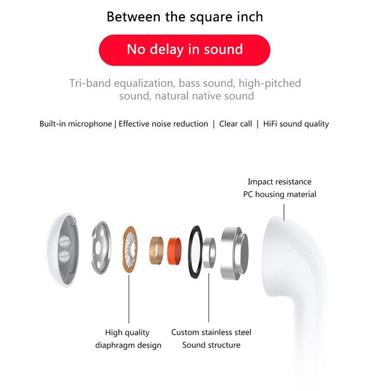 Image 3 - I8mini Mini Bluetooth Headset Binaural Stereo Sound Pop up Window TWS Wireless Bluetooth 5.0 Earphone With 400 mAh Changing Bin-in Bluetooth Earphones & Headphones from Consumer Electronics