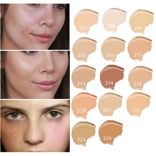 Natural Concealer Cream Makeup Cover Base Primer Corrector Cream Professional Face Foundation Makeup Contouring Palette 14 Colo