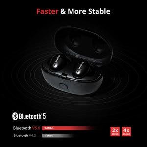 Image 5 - 1 יותר E1026 TWS אוזניות אלחוטי אוזניות Bluetooth 5.0 תמיכה aptX ו AAC HD Bluetooth תואם IOS אנדרואיד Xiaomi טלפון