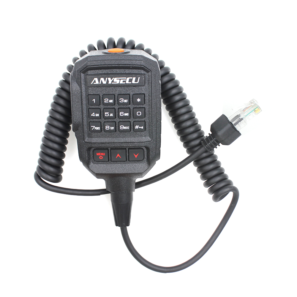 Original Microphone Fit For ANYSECU 4G Network Radio 4G-W2PLUS Walkie Talkie