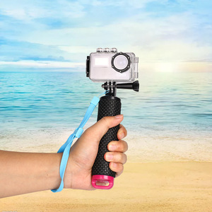 Image 2 - Waterproof Floating Hand Grip Underwater Selfie Stick for Gopro Hero Session Pro Float Handle Diving Action Camera