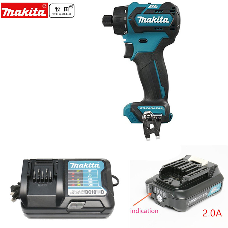 Makita DF032DZ DF032DSME DF032AE DF032DWME DF032AE 10.8V CXT Li-Ion Cordless Brushless Drill Driver Body Only