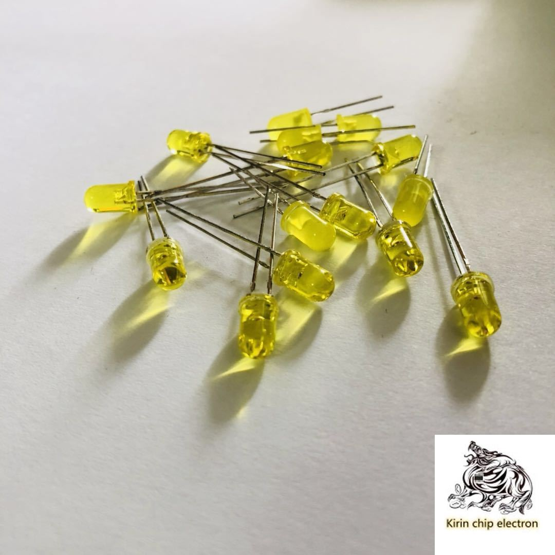 1000pcs / Lot 5mm Yellow Light Emitting Diode LED Yellow LED