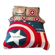 disney marvel the avengers beddings 3d comforter set single queen king size boy adult Avengers gift duvet cover pillow cases