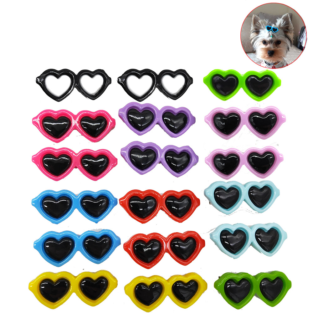 2 Pcs Pet Dog Accessories Pet Dog Alloy Clips Cute Dog Cat Clips Dog Grooming Accessories For Small Dogs Pet Supplier Hairpins