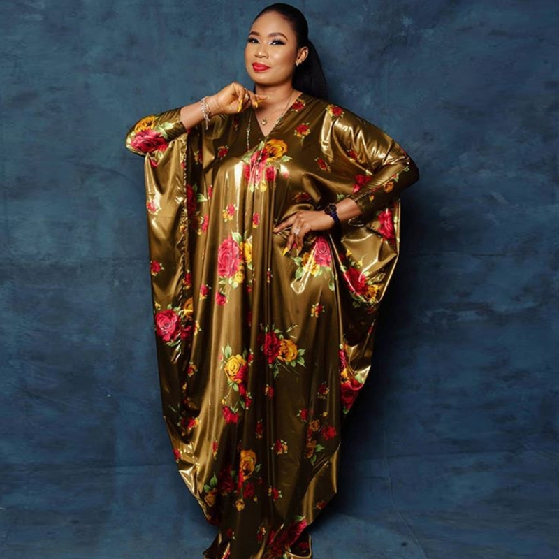 Length 145cm African Dresses For Women 2020 Africa Clothing Muslim Long Dress Length Fashion African Dress For Lady