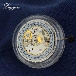 Lugyou часы автоматический механизм PT5000 Азия сделано 25 драгоценность 25,6 мм Высокая точность запасные части часов