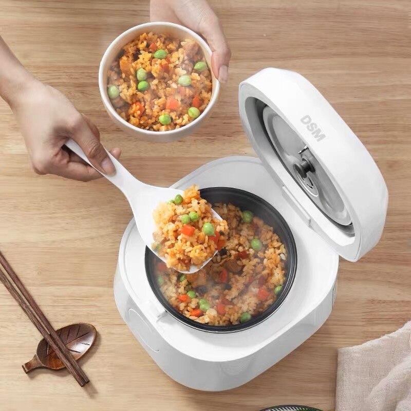 1 2L Portable Rice Cooker 220V Mini Multi Cooker Smart Kitchen Appliances Non Stick Pentola Elettrica