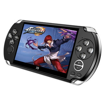 Video Retro Game Console X9 ForPSVita Handheld Game Player for PSP Viat Retro Games 5.0 inch Screen TV Out with Mp3 Movie Camera 1