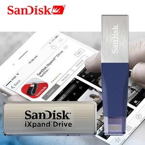 Image 5 - SanDisk stylo clé USB OTG USB 3.0 SDIX40N, lecteur Flash 256 go, clé USB lightning, pour iPhone, iPad, iPod, APPLE MFi