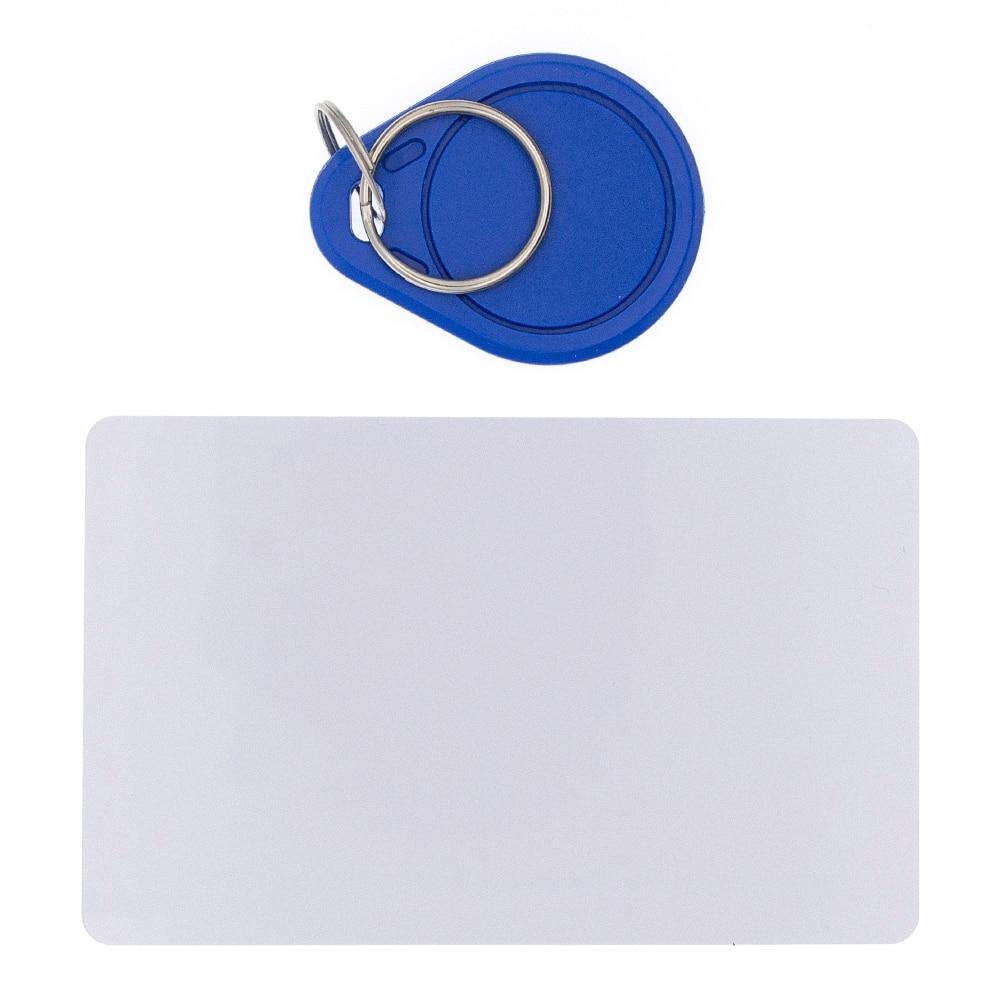 10 шт., RFID-карта 13,56 МГц, MF S50, беспроводная идентификация, 13,56 МГц, Mif1 S50, брелки, NFC-метка для системы контроля доступа