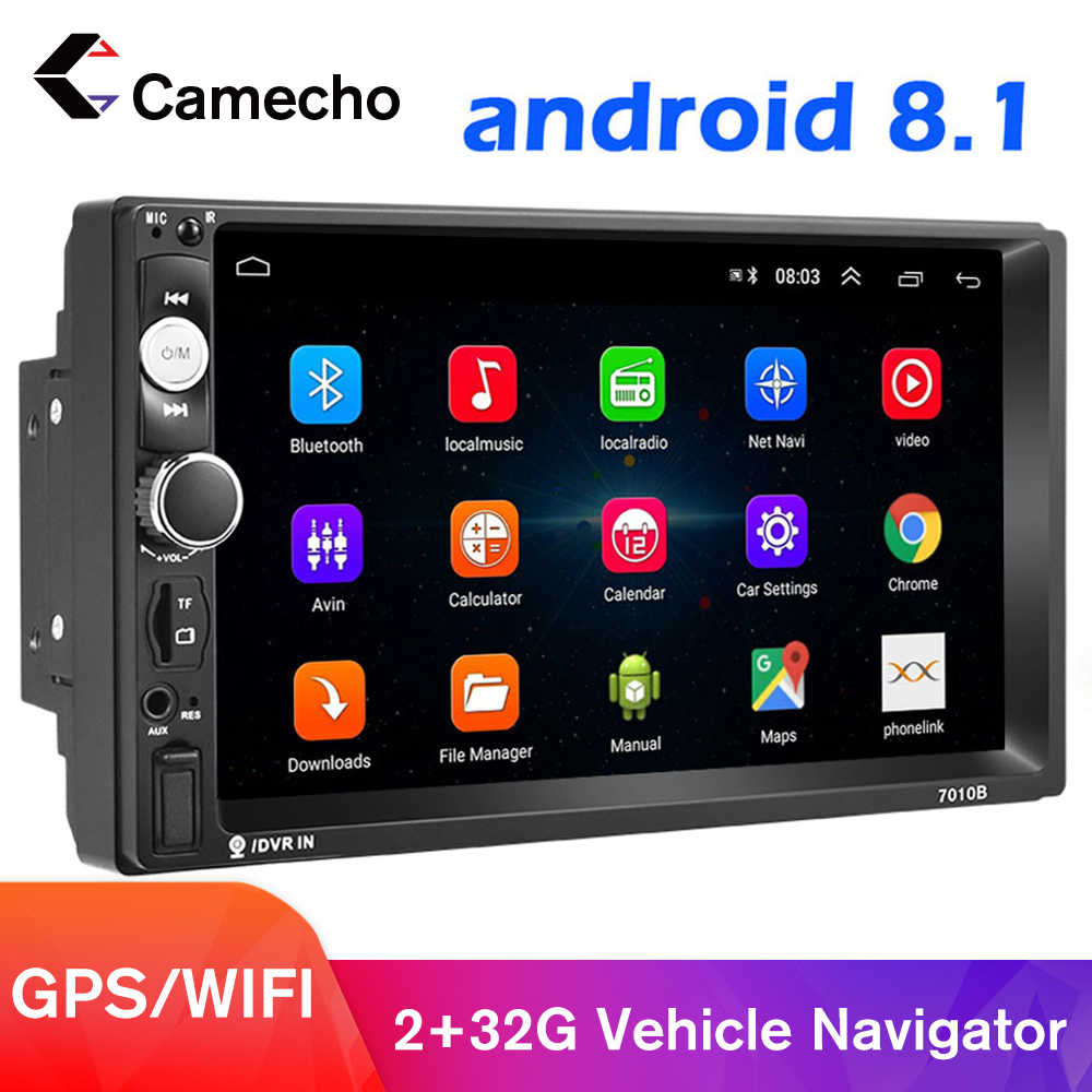 Podofo Android 8.1 2 Din Auto Radio Multimedia Video MP5 Speler Universele Stereo Gps Voor Volkswagen Nissan Hyundai Kia Toyota
