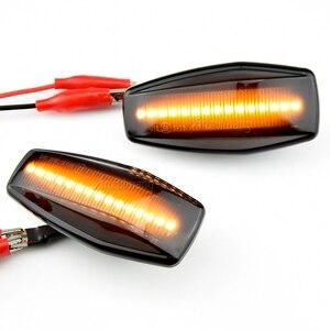 Image 5 - LED แบบไดนามิกด้านข้าง Marker Light Blinker โคมไฟสำหรับ Hyundai Elantra XD I10 Getz Sonata XG Tucson Terracan