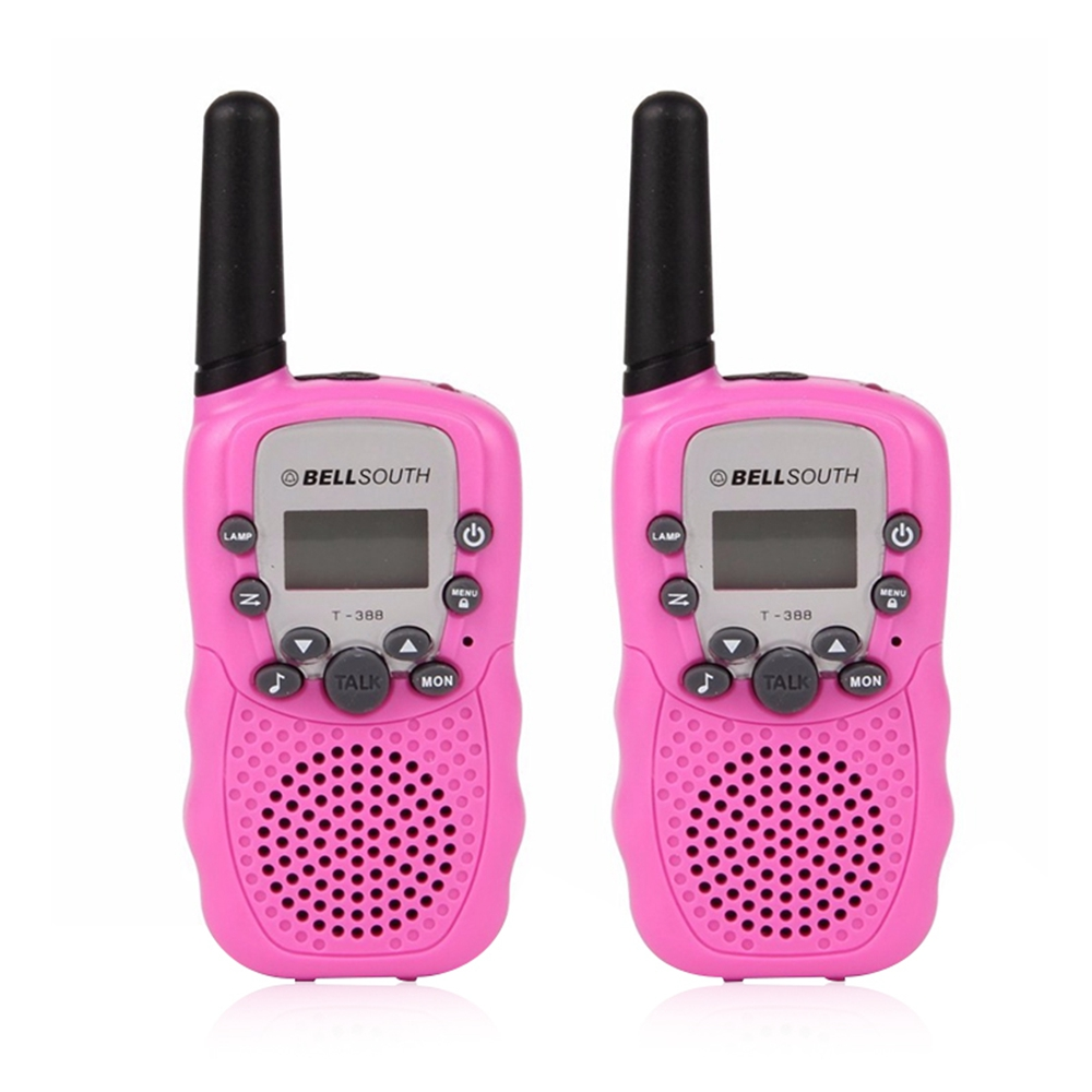 2pcs Mini Walkie Talkie Pretend Play Game Mobile Phone Long Range Two Way Radios Wireless Intercom Telephone Talking Toy For Kid