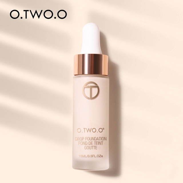 O.TWO.O Liquid Foundation Professional Makeup Base  Oil Free Full Coverage Concealer Long Lasting Liquid Foundation Cosmetics 2
