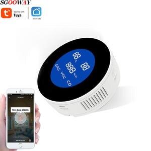 Temperature-Sensor Gas-Detector Tuya Wifi Natural Smart-Life Sgooway for LCD