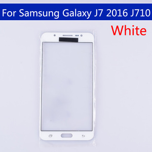 Image 3 - 10pcs\lot For Samsung Galaxy J7 2016 J710 J710F J710FN J710M J710MN J710H Touch Screen Outer Glass LCD Front TouchScreen Lens