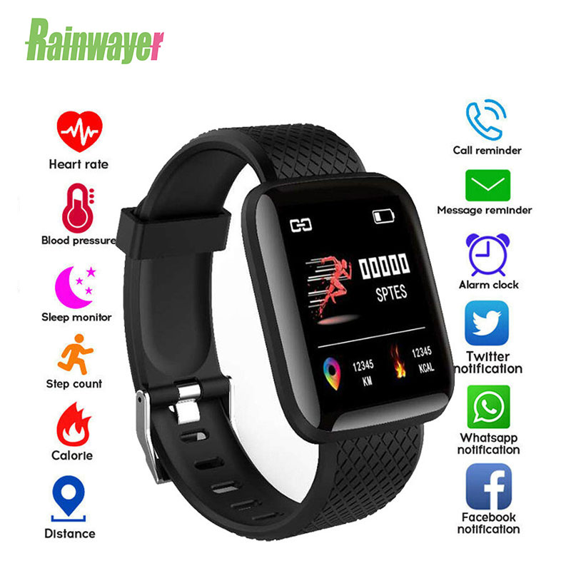116 Plus Smart Bracelet Watches Heart Rate Watch Wrist Band Man Sports Watches SmartBand Smartwatch Android Smart Watch D13