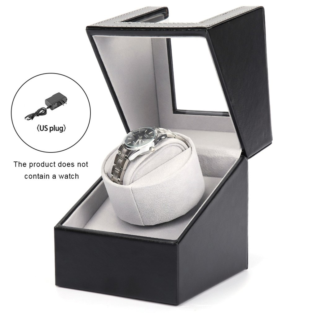 2019 EU/US/UK/AU Plug Motor Shaker Watch Winder Holder Display Automatic Mechanical Watch Winding Box Automatic Watches Box