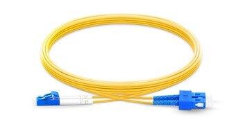 SC upc LC UPC Patchcord 1m to 15m duplex fibra optical Patch cord 2.0mm PVC G657 Fiber Jumper SM FTTH Optic Cable SC LC firstfiber 5m lc upc to sc upc g657a fiber patch cable jumper patch cord simplex 2 0mm pvc sm lc pc to sc pc bend insensitive