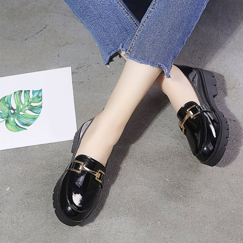 Women Patent Leather Shoes