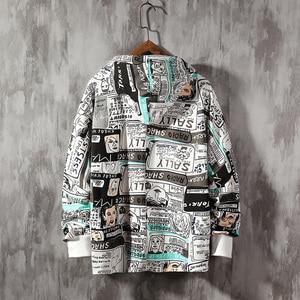 Image 5 - SingleRoad Mens Hoodies 2020 Frühjahr Übergroßen Japanischen Streetwear Sweatshirt Hip Hop Harajuku Sweatshirts Männlichen Anime Hoodie Männer