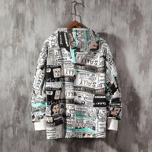 Image 5 - SingleRoad Mens Hoodies 2020 Spring Oversized Japanese Streetwear Sweatshirt Hip Hop Harajuku Sweatshirts Male Anime Hoodie Men