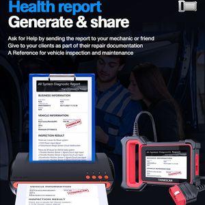 Image 5 - THINKCAR Thinkscan Plus S2 OBD2 Diagnose Werkzeuge ABS Airbag Motor System Öl EPB DPF SAS TPMS AFS Reset Auto Scanner automotive