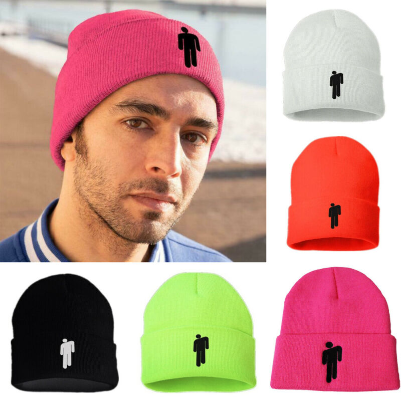 Hot Sell 2019 Man Women Cool Style Hip Hop Cap Unisex Solid Color New Fashion Knitted Hat Warm Beanie Hat