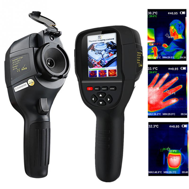 HT-18 Digital Imager Thermal Camera With Protective Cover And Infrared Imaging Sensor