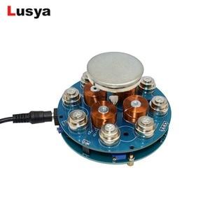 Image 2 - DIY magnetic levitation module Maglev Furnishing Articles DIY Kit Magnetic Suspension Digital Module with LED lamp weight 300g