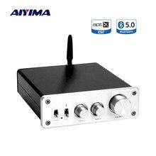 Aiyima tpa3255 amplificador de potência, bluetooth 5.0, 325wx2, qcc3008, aptx, estéreo, amplificador de áudio, alto-falante, home theater