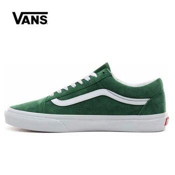 цена на Original Vans Old Skool Low Shoes Men Women Sneakers Unisex Skateboarding Vans Shoes VN0A4BV5V76