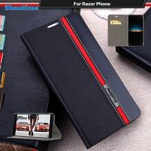 حافظة جلدية PU فاخرة للهاتف Razer حافظة لهاتف Razer جراب هاتف غطاء خلفي سيليكون ناعم