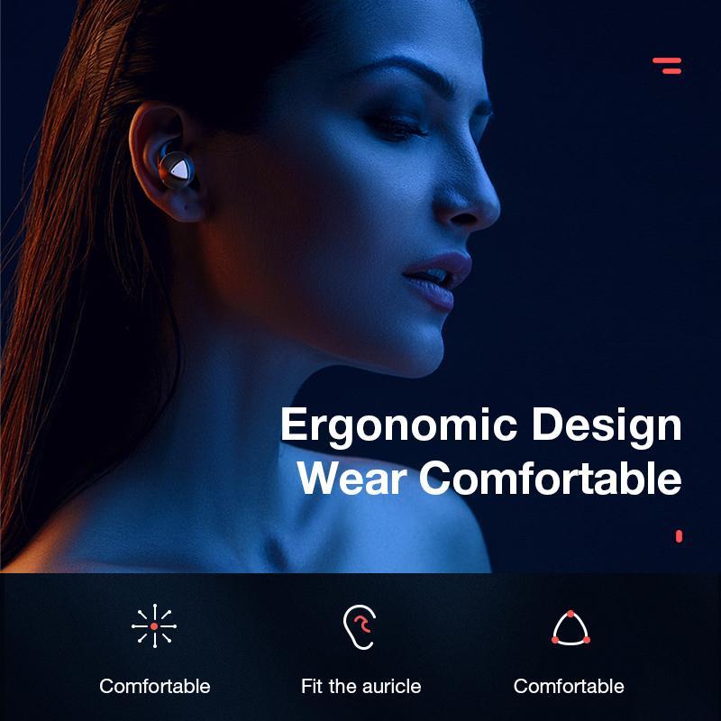 Wireless Earphones Bluetooth Headphones Sports Earbuds Stereo Headset Handsfree Auriculares For All Phones Xiaomi Samsung - 3