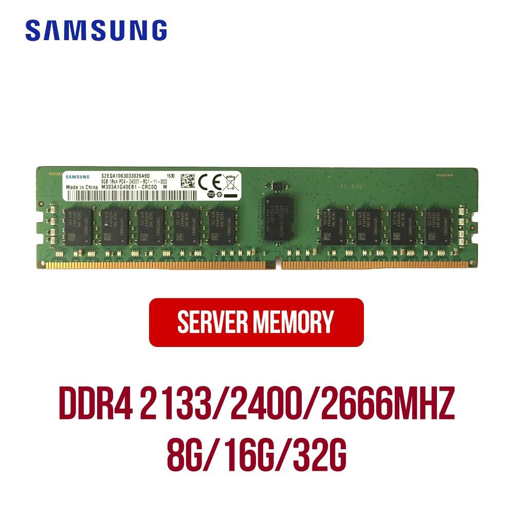 Samsung DDR4 servidor RAM 8GB 16GB 32GB 1RX4/2133/2400/2666MHZ ECC REG de memoria del servidor 32g 16g 8g DDR4 servidor ram 2RX4 Versión Global Xiaomi Mi 10 8GB Ram 128GB Rom teléfono móvil 5G Smartphone 108MP Snapdragon 865 Octa Core 6,67