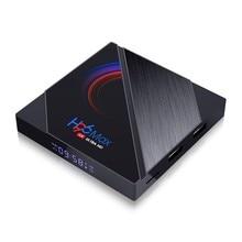 H96 max smart tv box 16gb 32gb 64gb allwinner h616 quad núcleo braço córtex a53 wifi bt4.0 youtube reprodutor conjunto caixa superior