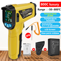 MESTEK termometro infrarojo digital Thermometers Non Contact Laser Thermometer Temperature Gun infrared thermometer with Alarm