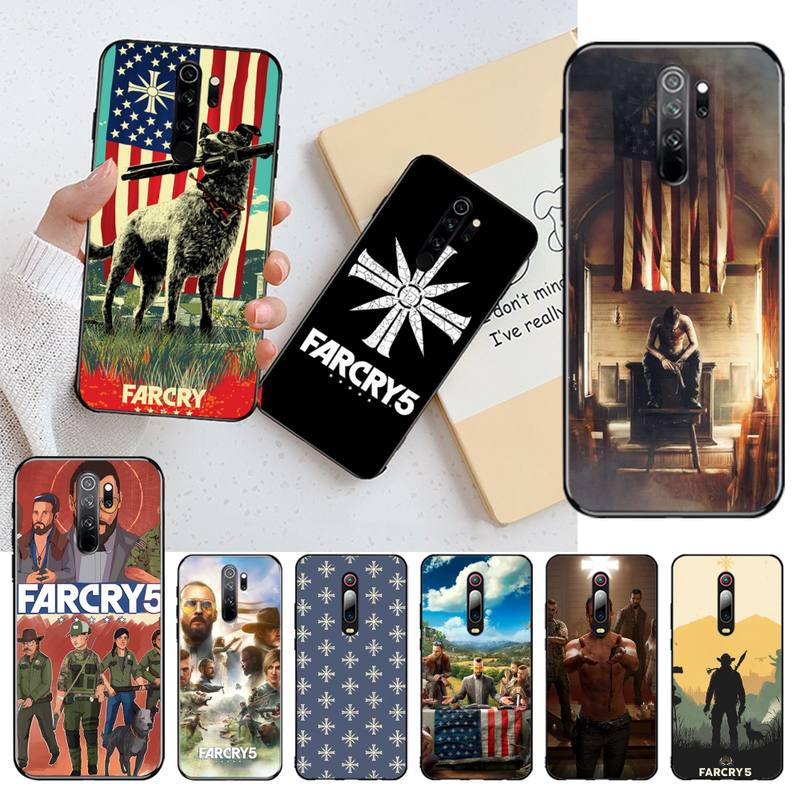 CUTEWANAN Action adventure game Far Cry 5 DIY Luxury Phone Case for Redmi Note 8 8A 7 6 6A 5 5A 4 4X 4A Go Pro Plus Prime image