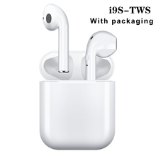 HICUTE i9s Tws wireless bluetooth headphones 5.0 Earphone Mini Earbuds With Mic Charging Box Sport Headset For iphone Xiaomi(China)