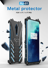 Oneplus 7 T Fall Oneplus 7 T Pro Abdeckung Fall R JUST Heavy Duty Rüstung BATMAN Stoßfest Metall Aluminium Phone Cases für Oneplus 7 T