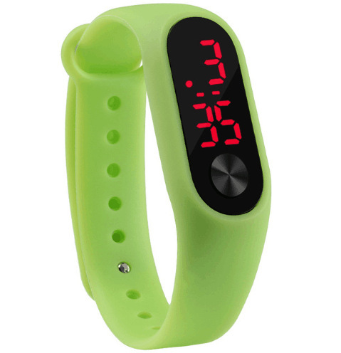 Hot Selling South Korea Millet Second Generation LED Bracelet Watch Millet LED Sports Smart Electronic Watch Wholesale