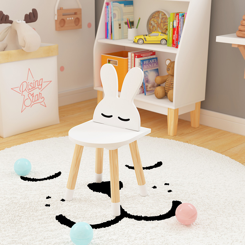 Ins Children's Study Table And Chairs Kindergarten Cartoon Small Table Kids Chair For Kindergarten