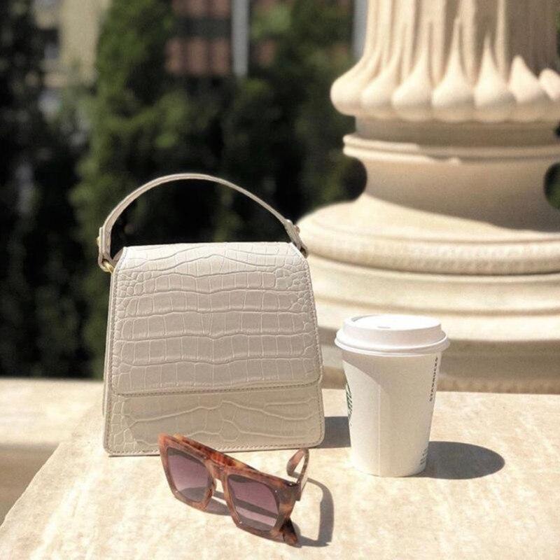 Роскошные дизайнерские сумки, кошелек lligator, женские сумки на плечо, высокое качество, искусственная кожа, однотонные женские сумки мессенджеры, винтажные|Сумки с ручками| | АлиЭкспресс - Трендовые вещи из сериала «Эмили в Париже»