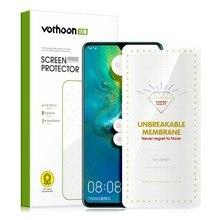 Vothoon protetor de tela, para huawei mate 30 pro 20 pro 20x 30rs p40 pro + p30 p20 lite cobertura completa película protetora de tela macia