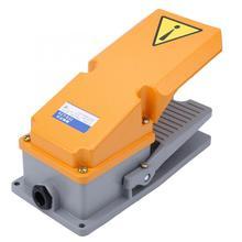 Ayak kontrolü Pedal anahtarı LT4 alüminyum kabuk Jog pedalı güç kontrolörü makine ekipmanı için ayak anahtarı