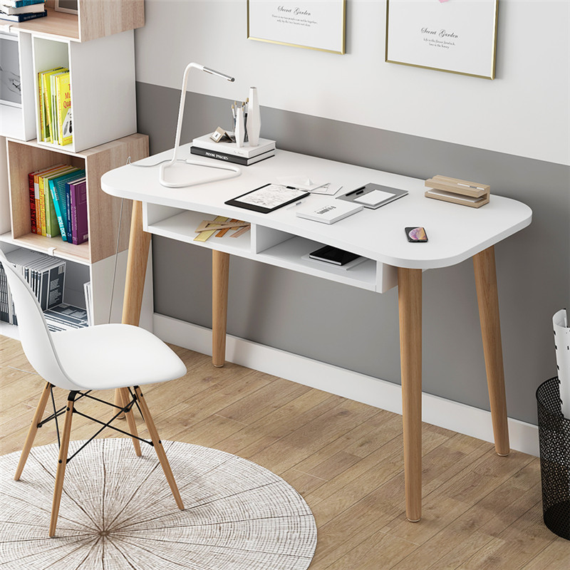 Ins Nordic Simple Home Computer Desk Desk Student Desk Office Modern Bedroom Small Apartment Table White Desk
