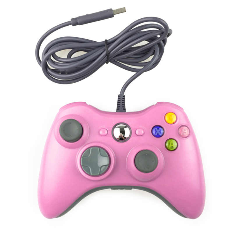 2019 Joystick per Official Microsoft PC per Windows7/8/10 Nuovo 1pcs USB Wired Joypad Gamepad Controller per Xbox 360 360