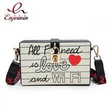 Fashion Letters Crown Box Design Womens Party Clutch Bag Shoulder Purse Bag Handbag Ladies Crossbody Bag 2020 New Designer Bag