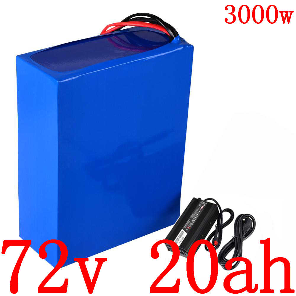 72V 2000W 3000W electric scooter battery 72V 20AH electric bicycle battery 72V li-ion scooter battery 72V 20AH Lithium battery